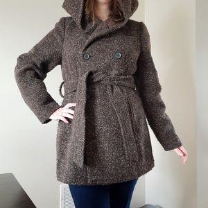 Kismet Ladies Pea Coat With Hood
